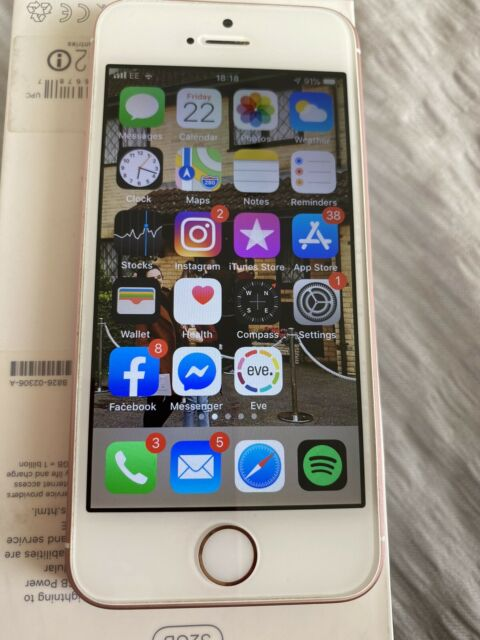 Apple iPhone SE 64 Go Smartphone-Or Rose (Débloqué)