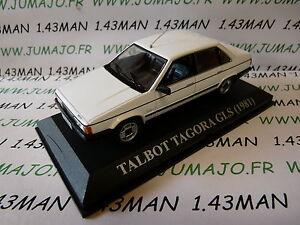 voiture-1-43-altaya-IXO-034-voitures-d-039-antan-SIMCA-TALBOT-Tagora-GLS-1981-Espagne