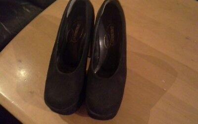 Damen Schuhe Pumps / Platou, schwarz, Größe 38, getragen von graceland,