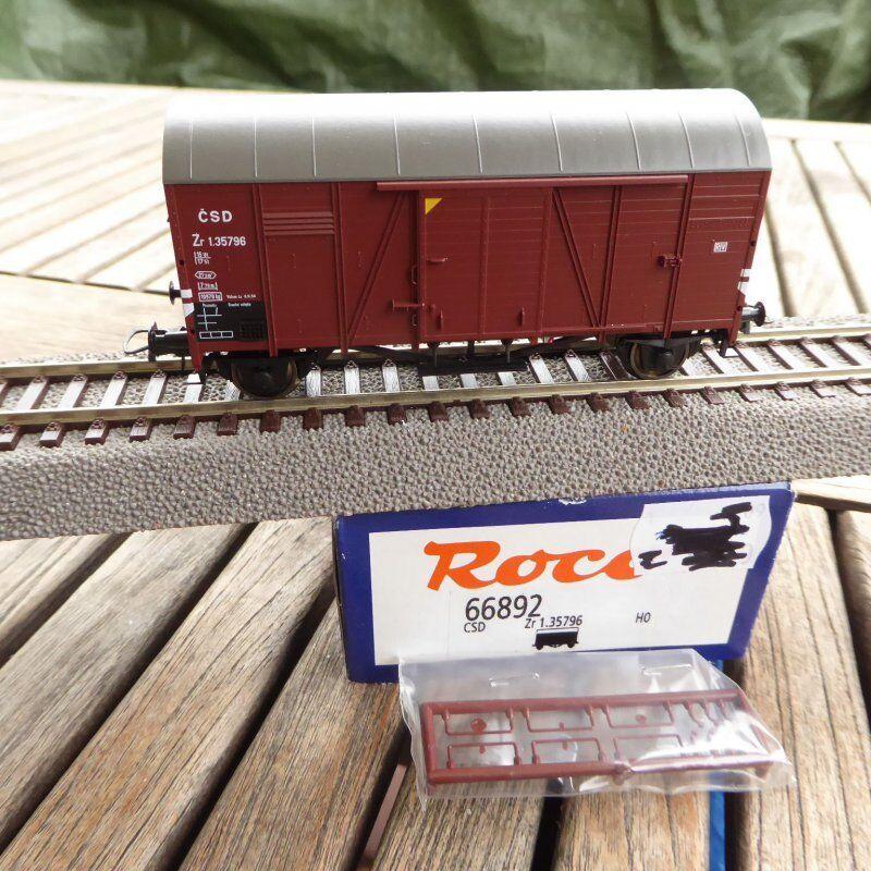 Roco 66892 h0 Closed Boxcar zr the PKP, Vintage 3-4 Neuwertig box