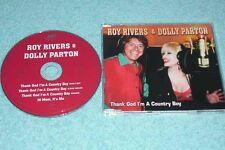 Roy Rivers & Dolly Parton Maxi-CD Thank God I'm A Country Boy - German 4-track