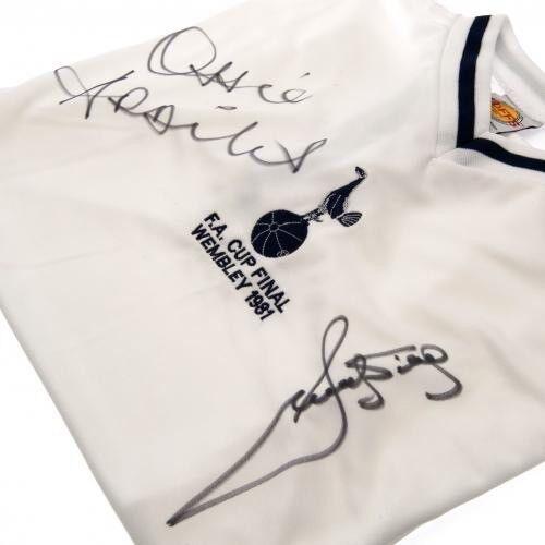 Tottenham Hotspur Football Club Ardiles & Villa Signed Replica Shirt