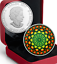 Maple Leaf Kaleidoscope Canadiana $20 2017 60mm 1OZ PureSilver Proof Coin Canada