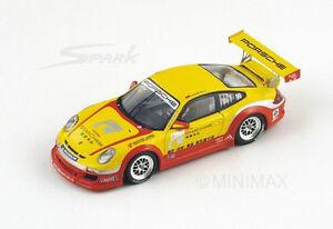 Spark Porsche 997 Gt3 Cup # 99 Champion Carrera Asie 2010 Menzel Sa001 1/43