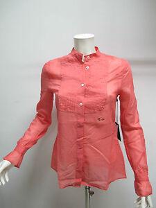 Harmont Art Shirt Et Col Femme 48 hb30114 Blaine Tg corallo q77wH1vr