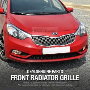 oem auto parts front radiator hood grille cover for kia. Black Bedroom Furniture Sets. Home Design Ideas