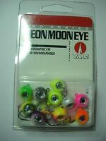 Rapala Vmc Pro Series Neon Moon Eye Jig Heads Assorted Kit 10 Pc Various