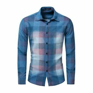 New-Luxury-Casual-Fashion-Dress-Shirts-Slim-Fit-Casual-Stylish-Mens-Long-Sleeve