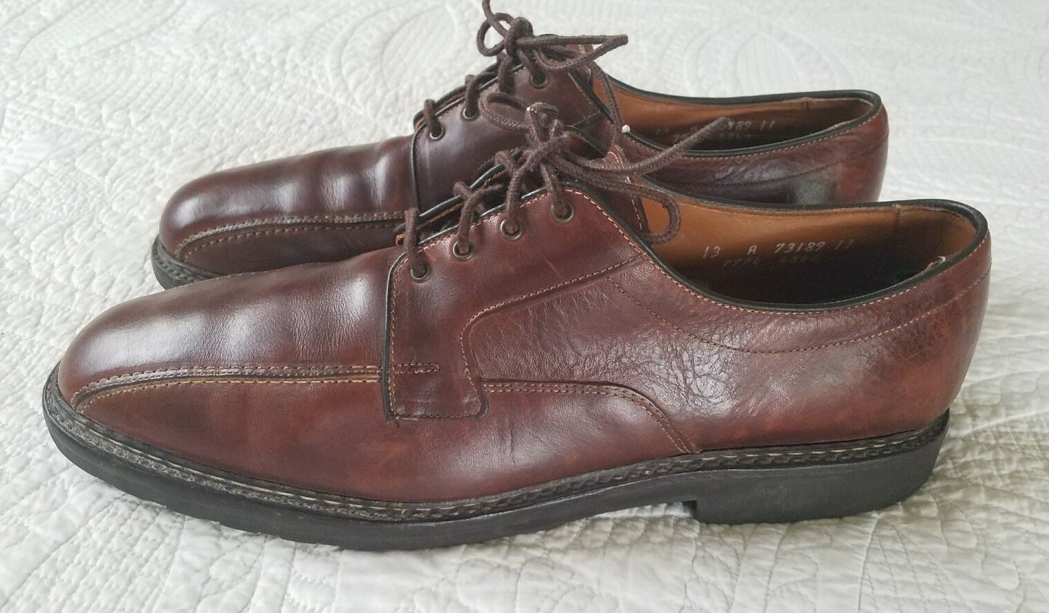 6fadefd7c41 ALLEN EDMONDS Mapleton Leather Oxford Dress shoes Men s Size 13 R  nrsnsa3130-Dress Shoes