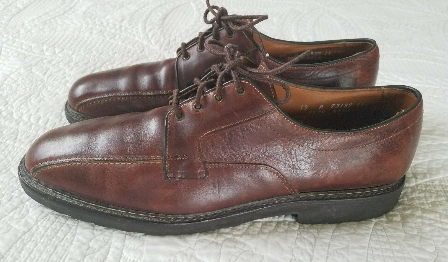 ALLEN EDMONDS Mapleton Leather Oxford Dress shoes Men's Size 13 R