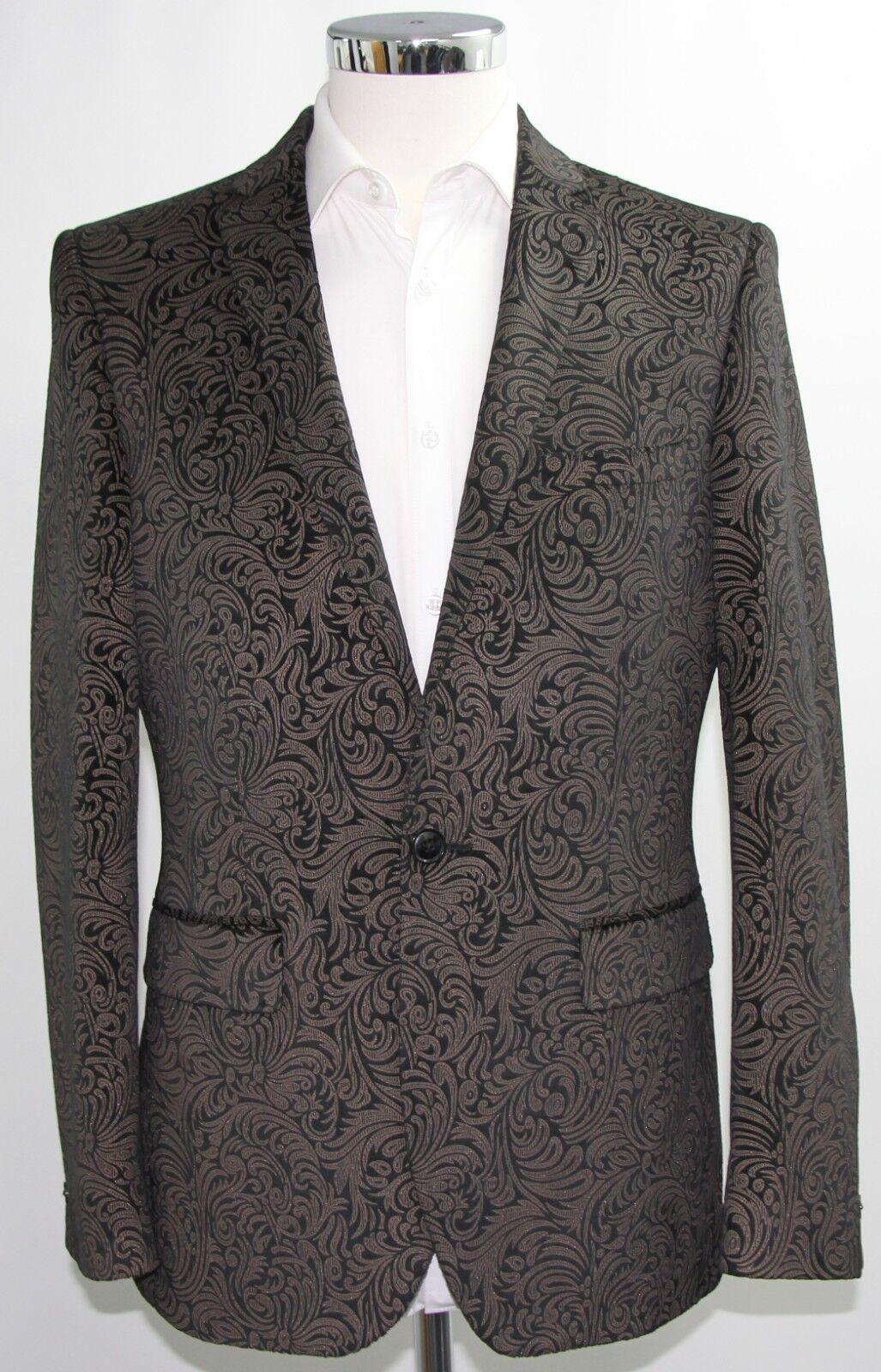 Men's Harry Brown,floral party blazer (40S).. sample 3462