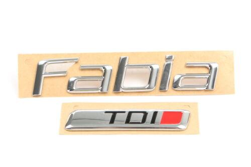 Original SKODA 5J6853687A KTP Schriftzug Logo Emblem