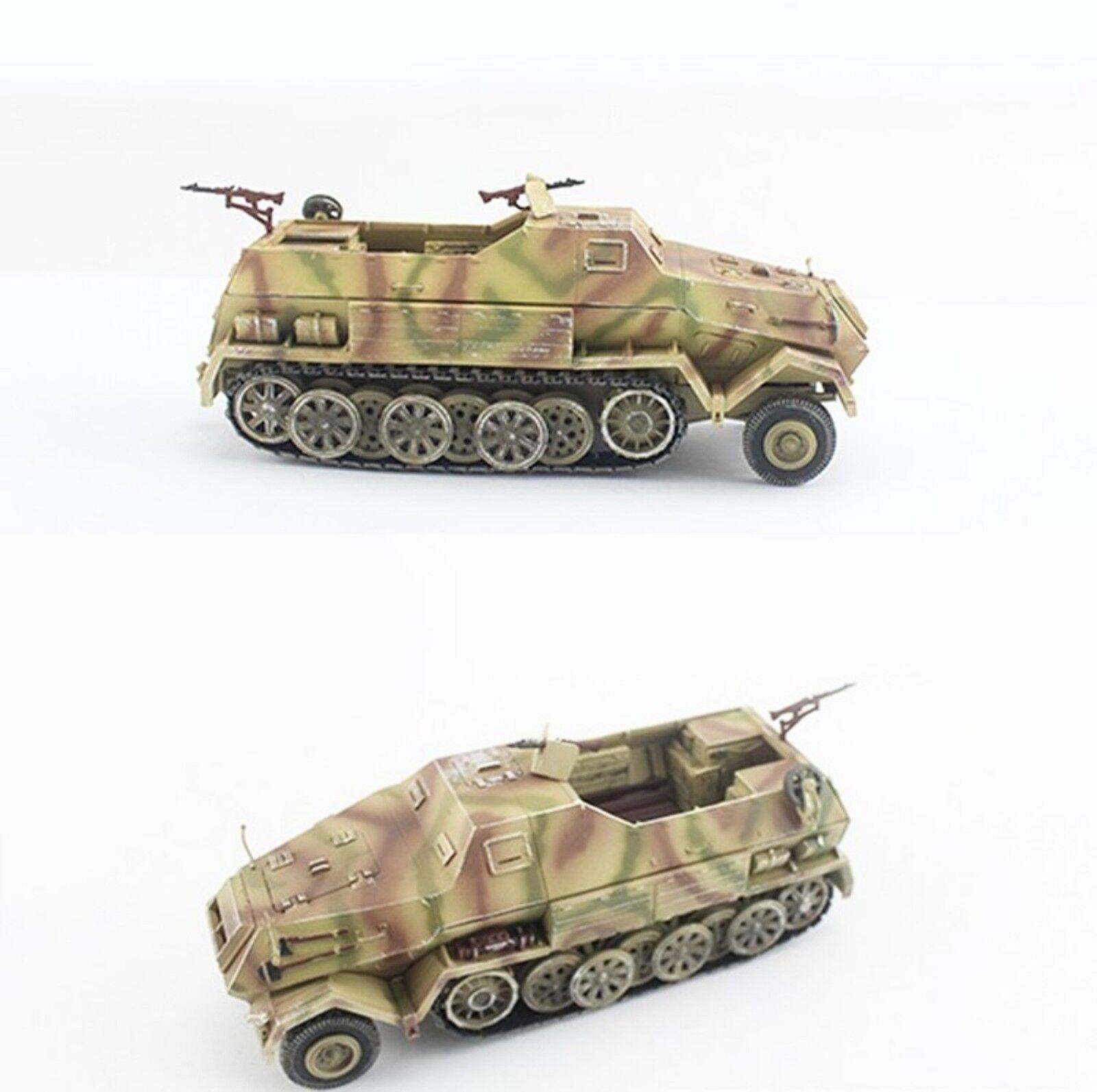 PMA Blitz72 1 72 Sd.Kfz.8 DB10 Gepanzerte Gepanzerte Gepanzerte 12T Tri-color Camo German Army P0318 470dcd