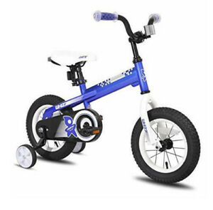 Joystar Whizz Series 16 Inch Ride On Kids Bike With Training Wheels Blue Ebay