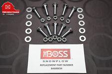 Boss Plow Snowplow Cutting Edge Bolts 12 13x2 Plow Blade Kit Boss Bax00034