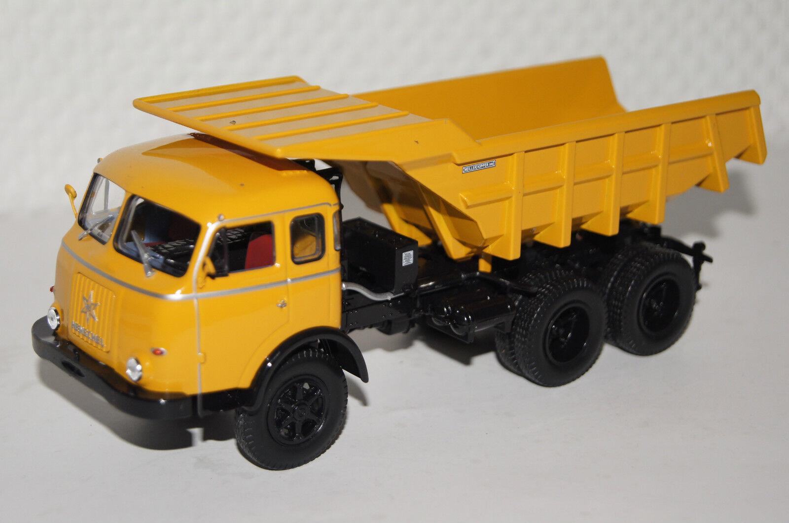 Henschel HS 3-180 TAK Kipper 1956 yellow 1 43 Norev neu & OVP 820562