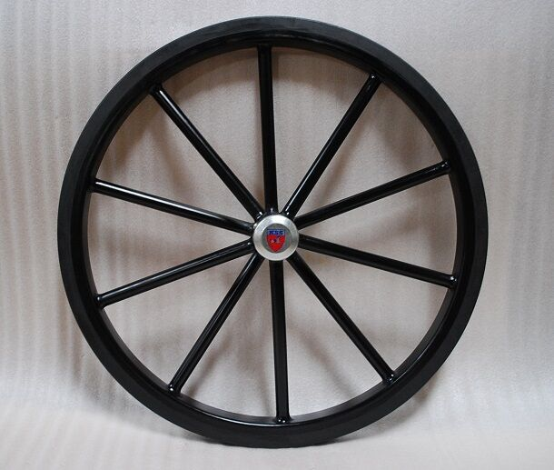 24  Pair of Solid Rubber Tires for Horse cart