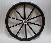 24 Pair Of Solid Rubber Tires For Easy Entry Style Horse Carts