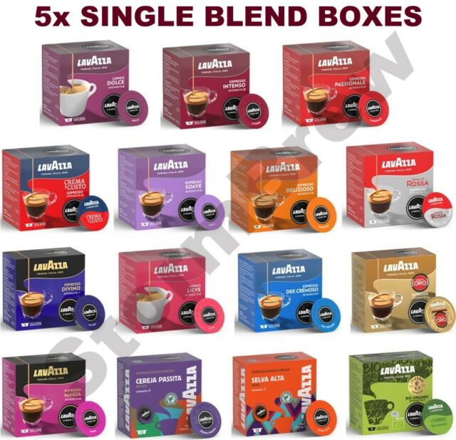 5x Lavazza A Modo Mio Coffee Pods Capsules Packs All 15 Blends To Choose From