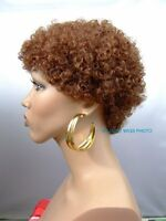 Color Choice Quality Unisex Short Afro Wig For Women And Men For Every Day