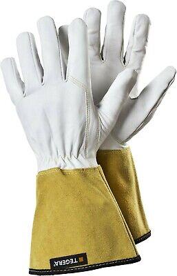 Tegera 17 Hitze Wasserfest Leder Schwerlast Schweißen Handschuhe Größe 8 M 10 XL