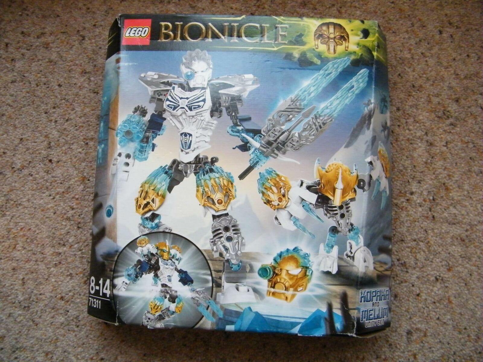 Nouveau LEGO BIONICLE 71311 Kopaka et melum Unity Unité de glace boîte scellée Set