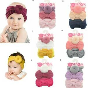 3Pcs-Toddler-Baby-Girls-Kids-Bow-Knot-Hair-Band-Headband-Elastic-Turban-Headwrap