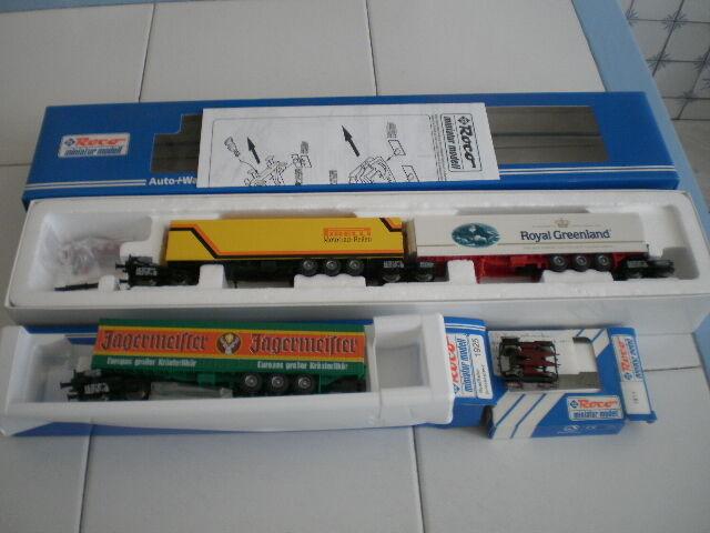 Système Road Railer Kombi-rail DBAG roco