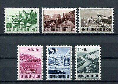 1953.belgica.belgique.yvert 918/23 ** .nuevos Ohne Fijasellos. (mnh) .catalogo