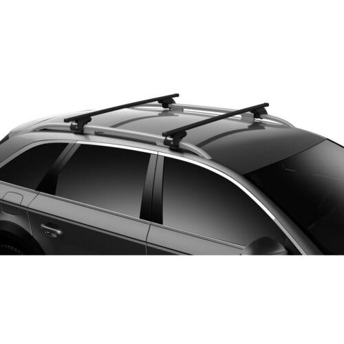 Thule SquareBar Evo Standard-Laststreben Traversen für Dachträgersystem 135 cm