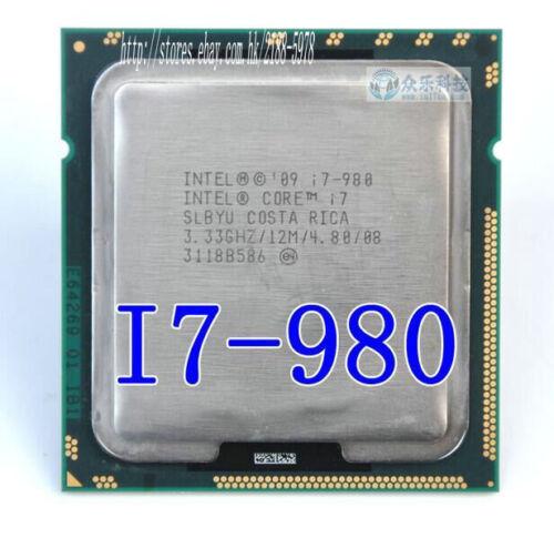 1 of 1 - Free shipping Intel Core I7-980 SLBYU 3.33 GHZ / 12M/ 4.80 LGA 1366 Processor