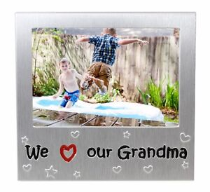 We Love Our Grandma Photo Picture Frame Mothers Day Birthday Xmas
