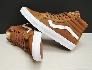 7fea636f245 Image is loading Vans-SK8-Hi-Reissue-Premium-Leather-Dachshund-VN0A2XSBMXG-