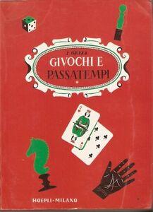 Gelli - Giochi e Passatempi Hoepli VII edz. 1987