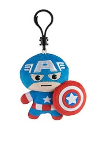 "Series 1 Clip on Collectible approx 3/"" YOUR PICK NEW US Marvel Plush Clips"