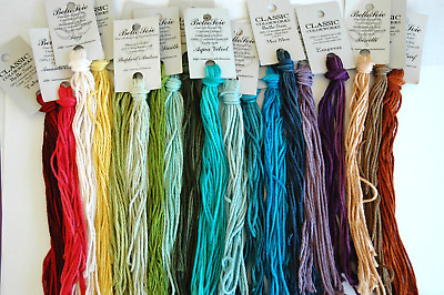 Belle Soie Silk by Crescent Colors-10 skeins.