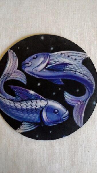2019 Nieuwste Ontwerp Pisces Mouse Pad Blue Fish Rijk En Prachtig
