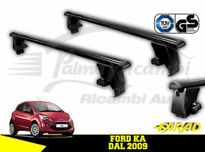 Image Is Loading Iron Bs Roof Bars Farad Iron Black Ford