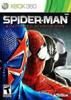 Xbox 360 Spider Man Shattered Dimensions Brand Video Game
