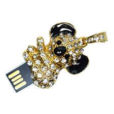Koala Bär aus Metall mit Kristallen - USB Stick 8 GB Speicher / USB Flash Drive