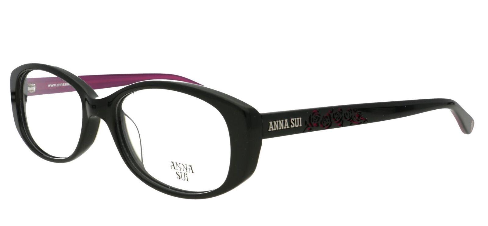 Anna Sui Como 577 001 Gafas Rx Óptico Monturas + Estuche + Paño
