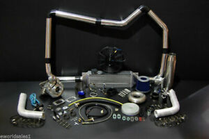 Details about 500HP TURBO CHARGER KIT PACKAGE HONDA JDM CIVIC INTEGRA  FABRICATION 19 PIECES TT