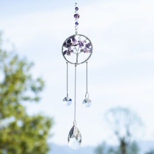 Tree-Of-Life-Handmade-Suncatcher-Crystal-Window-Hanging-Ornament-Pendant-Gifts