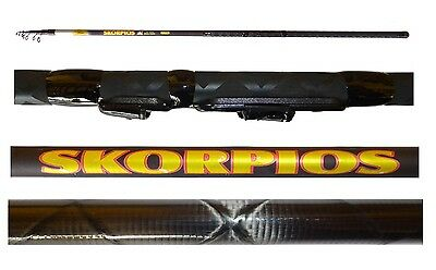 Kind-Hearted Canna Carbonio Intrecciato Skorpios 4m 10/40g Pesca Inglese Mare Lago Trota Other Fishing Rods Sporting Goods
