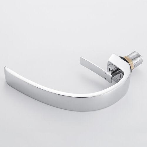Luxury Luxury Waterfall Bathroom Sink Taps Basin Mixer Chrome Brass Faucet