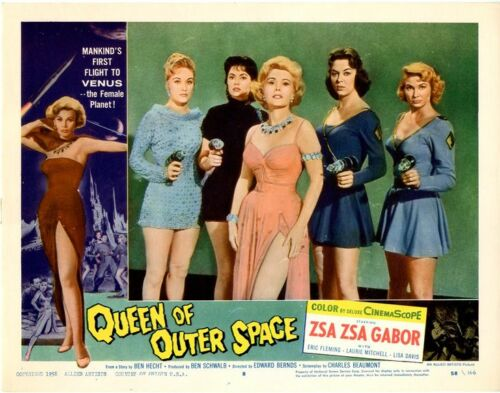 """Queen of Outer Space  Movie Poster Replica 11x14/"""" Photo Print"""