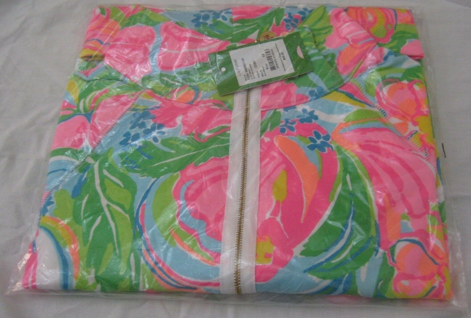LILLY PULITZER SKIPPER POPOVER MULTI SO A PEELING LADIES SIZE XS NWT