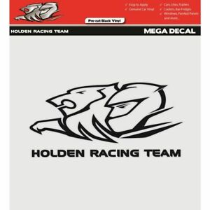 HOLDEN-RACING-TEAM-BLACK-MEGA-DECAL-VINYL-CAR-STICKER-HRT-OFFICIAL-MERCHANDISE