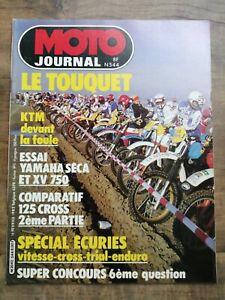 Moto Journal Nº 544 / 18 Février 1982