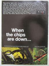 2/1968 PUB RYAN AERONAUTICAL FIREBEE II JET TARGET RECOVERY DRONE ORIGINAL AD
